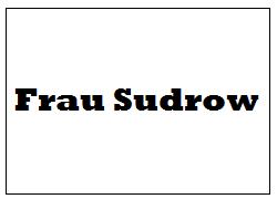 Frau Sudrow
